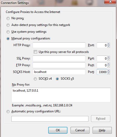 Firefox Proxy Socks 5