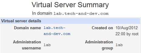 lab tech and dev